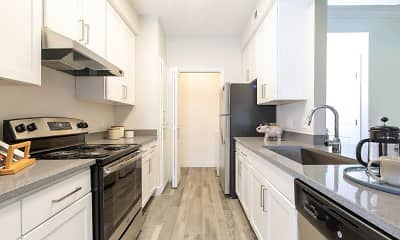 Kitchen, Alpine Meadows Apartments, 1