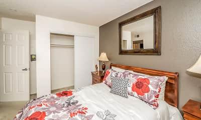 Bedroom, River Terrace, 2