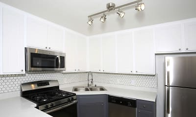 Kitchen, Lakehouse Apartment Homes, 0