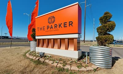 Community Signage, The Parker Apartment Homes, 2