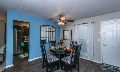 Dining Room, Spanish Oaks, 1