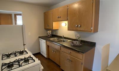 Kitchen, Broadway West Apartments, 2