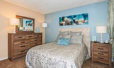 Bedroom, The Waterford at Mandarin Apartments, 1