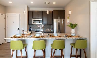 Kitchen, Residences at Bentwood, 1