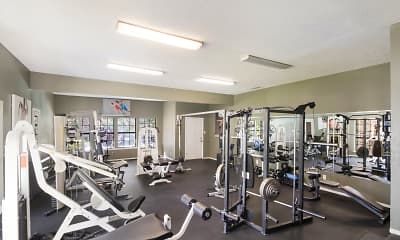 Fitness Weight Room, The Glen at Lewisville, 2