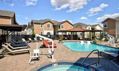 Pool, Silverado Apartments, 1