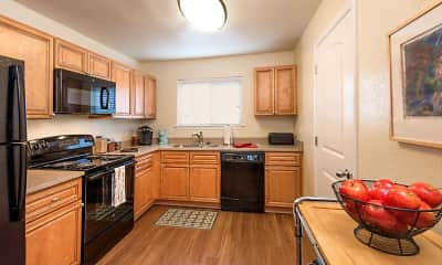 Kitchen, Haven Apartments and Townhomes, 1