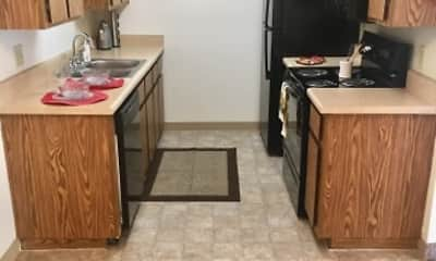 Kitchen, Vantage Point Apartments, 1