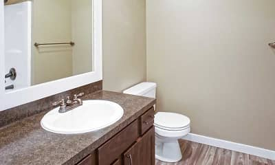 Bathroom, Canterbury Apartment Homes, 2