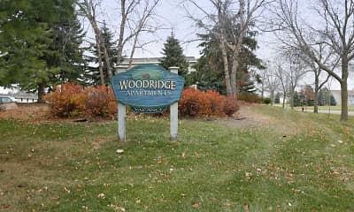 Community Signage, Woodridge Apartments, 2