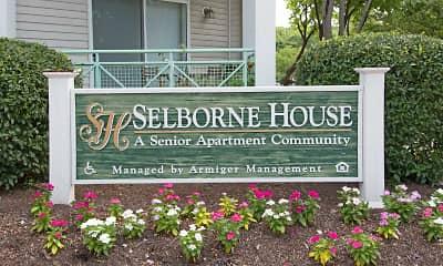 Community Signage, Selborne House at Laurel, 2