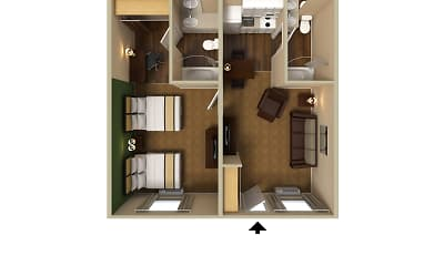 Furnished Studio - Denver - Tech Center South - Inverness, 2