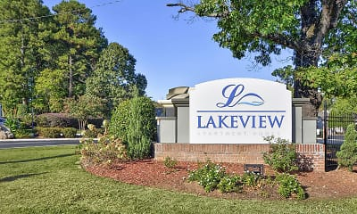 Community Signage, Lakeview Apartment Homes, 1