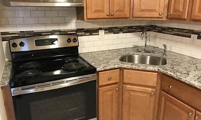 Kitchen, Kenmore Apartments, 0