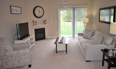 Living Room, Park Place At Glenmont Square Apartments, 1
