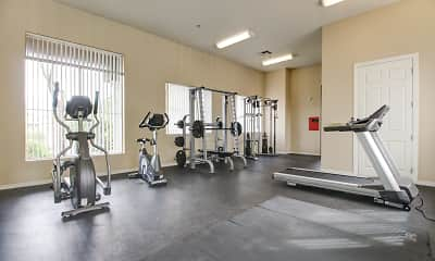 Fitness Weight Room, Desert Point, 2