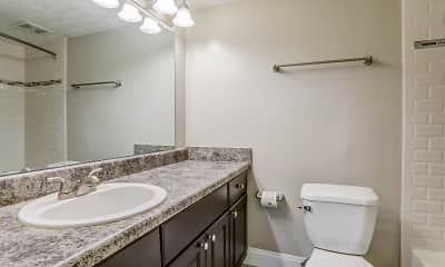 Bathroom, Mountainside Apartments, 2