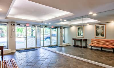 Foyer, Entryway, Chevy Chase Tower, 1