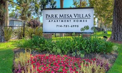 Community Signage, Park Mesa Villas, 0