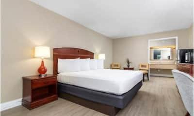 Bedroom, Stayable Suites Lakeland, 1