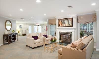 Living Room, Kendrick Court, 1