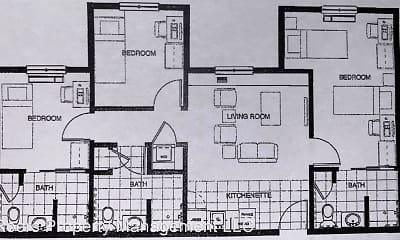 plan, Villard Commons, 0