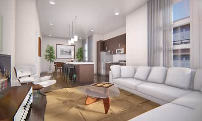 Living Room, The Residences at Echelon, 0