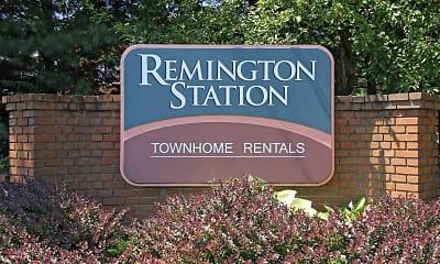 Community Signage, Remington Station Townhouses, 2