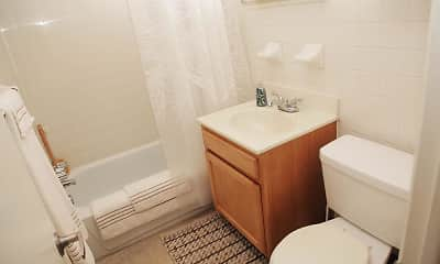 Bathroom, River Annex, 2