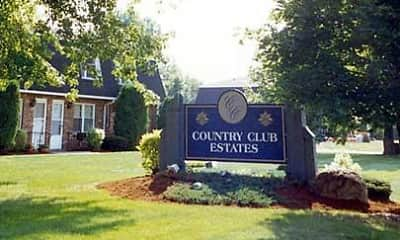 Community Signage, Country Club Estates, 1