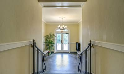 Foyer, Entryway, The Terrace Apartments, 1