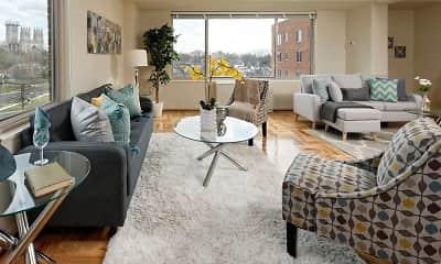 Living Room, 4000 Massachusetts Ave., 0