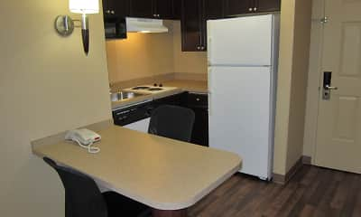 Kitchen, Furnished Studio - Phoenix - Chandler - E. Chandler Blvd., 1