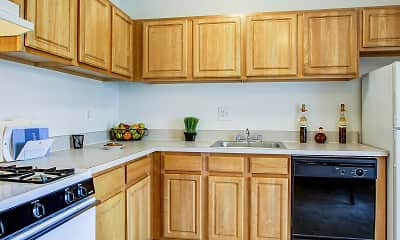Kitchen, Meadowood Townhomes, 2