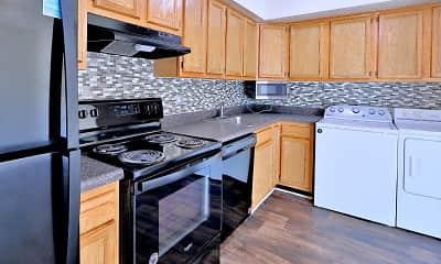 Kitchen, The Townhomes at Diamond Ridge, 1