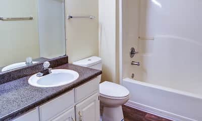 Bathroom, North Pointe Apartments, 2