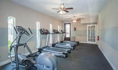 Fitness Weight Room, Alora Apartment Homes, 1