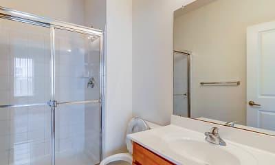 Bathroom, Camelot at La Mer I & II, 2