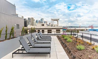 Patio / Deck, 10 Clay Apartments, 0