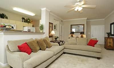 Living Room, Chateau des Lions, 1