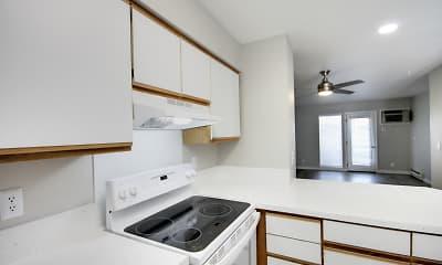 Kitchen, The Farmstead Apartments, 2