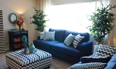 Living Room, Roselake Apartments, 0