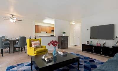 Living Room, The Verona at Landover Hills, 1