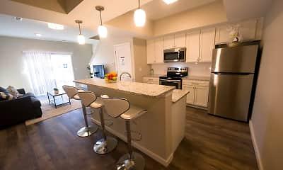 Kitchen, Demorest Town Homes, 0