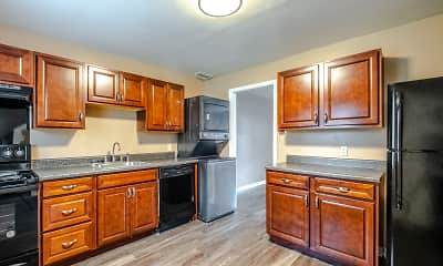 Kitchen, Wingate Townhouse Apartments, 0