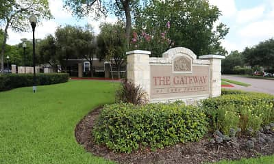 Community Signage, The Gateway at Lake Jackson, 0