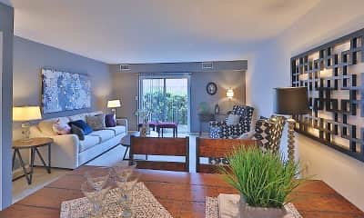 Living Room, Lakewood Hills Apartments & Townhomes, 0