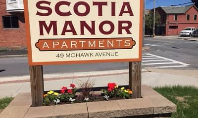 Community Signage, Scotia Manor Luxury Apartments, 0