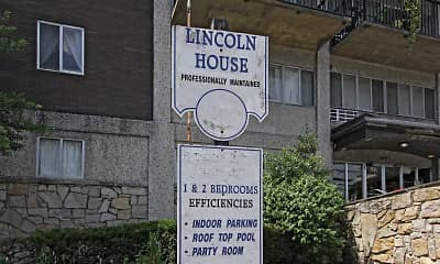 Community Signage, Lincoln House, 2