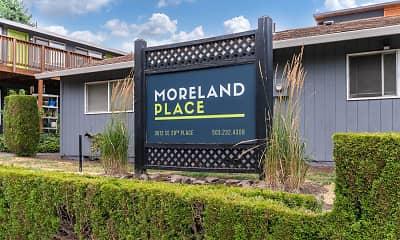 Community Signage, Moreland Place, 1
